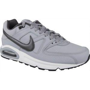 Nike AIR MAX COMMAND LEATHER šedá 8 - Pánska vychádzková obuv