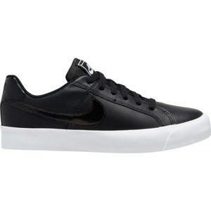 Nike COURT ROYALE AC čierna 7.5 - Dámska obuv na voľný čas
