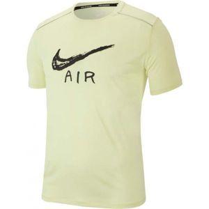 Nike MILER COOL SS GX HBR žltá XXL - Pánske tričko