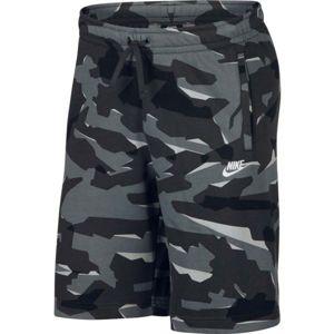 Nike NSW CLUB CAMO SHORT FT  XL - Pánske šortky