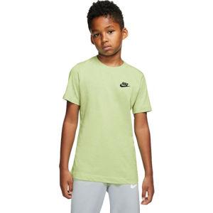 Nike NSW TEE EMB FUTURA B  XS - Chlapčenské tričko