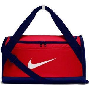 Nike BRSLA S DUFF červená S - Športová taška