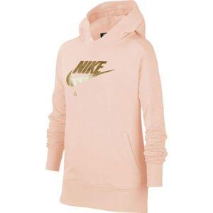 Nike NSW NIKE AIR PO GX G ružová L - Dievčenská mikina