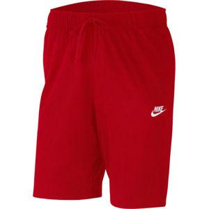 Nike SPORTSWEAR CLUB červená L - Pánske šortky