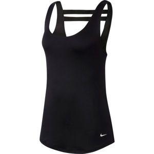 Nike DRY TNK SSNL ESSNTL ELSTK biela XS - Dámske tielko