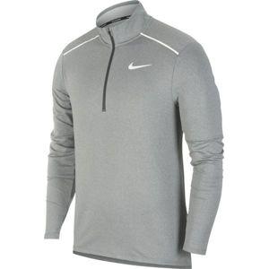 Nike ELEMENT 3.0 šedá S - Pánske bežecké tričko