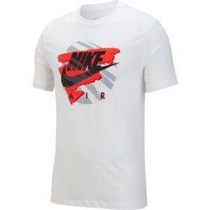 Nike NSW SS TEE EXP 2 biela M - Pánske tričko