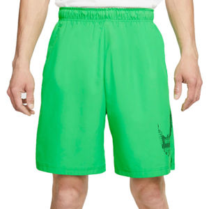 Nike FLX 2.0 GFX2 zelená M - Pánske bežecké šortky