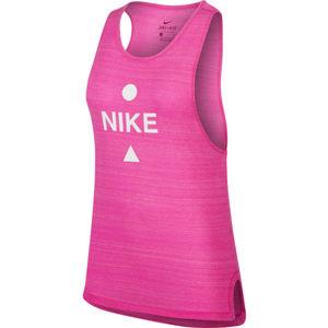 Nike ICON CLASH ružová XS - Dámsky bežecký top