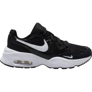 Nike AIR MAX FUSION GS čierna 6Y - Detská voľnočasová obuv