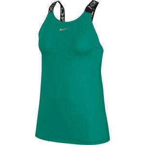Nike NP CLN ELASTIKA TANK SU W zelená S - Dámske tielko
