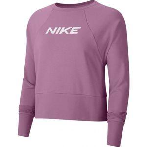 Nike DRY GET FIT FC CW CP EL G W ružová S - Dámska mikina