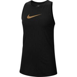 Nike DRY TANK SLUB ICON CLA W čierna XL - Dámske športové tielko
