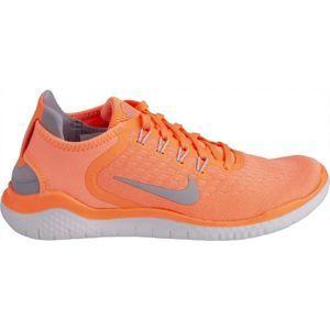 Nike FREE RN W 2018 červená 8.5 - Dámska bežecká obuv