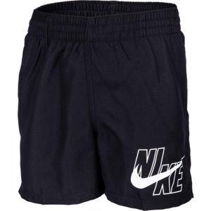 Nike LOGO SOLID LAP čierna L - Chlapčenské plavky