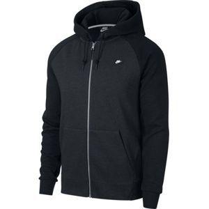 Nike NSW OPTIC HOODIE FZ čierna M - Pánska mikina