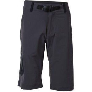 Northfinder YUSUF tmavo sivá XXL - Pánske šortky