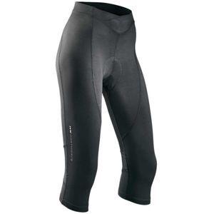 Northwave CRYSTAL KNICKERS W čierna S - Dámske 3/4 cyklistické nohavice