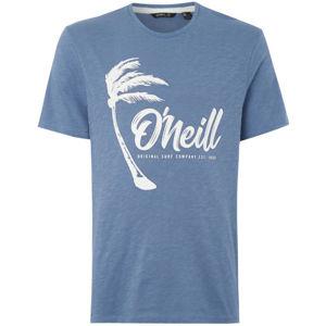 O'Neill LM PALM GRAPHIC T-SHIRT modrá XXL - Pánske tričko