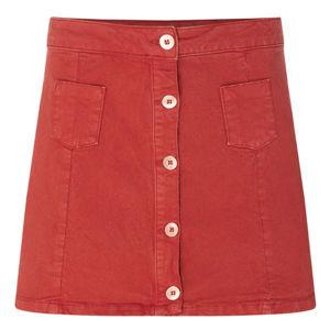 O'Neill LW TUNITAS SKIRT červená L - Dámska sukňa