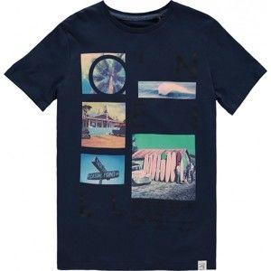 O'Neill LB NEOS T-SHIRT tmavo modrá 104 - Chlapčenské tričko
