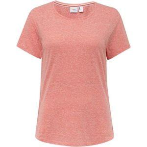 O'Neill LW ESSENTIAL T-SHIRT ružová M - Dámske tričko