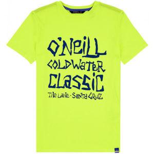 O'Neill LB COLD WATER CLASSIC T-SHIRT žltá 140 - Chlapčenské tričko
