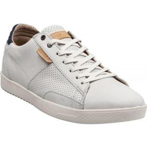 O'Neill MUTANT LOW LEATHER biela 46 - Pánska voľnočasová obuv