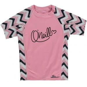 O'Neill PG ZUMA BEACH S/SLV SKIN ružová 8 - Dievčenské tričko