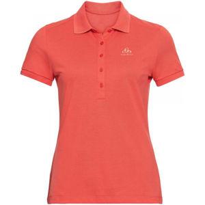 Odlo WOMEN'S T-SHIRT POLO S/S CONCORD oranžová XS - Dámske tričko