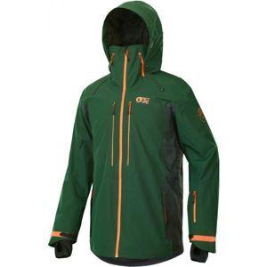Picture TRACK zelená M - Lyžiarska bunda