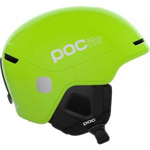 POC POCito OBEX SPIN svetlo zelená (55 - 59) - Detská lyžiarska prilba