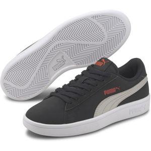 Puma SMASH V2 BUCK JR tmavo sivá 6 - Detská obuv