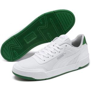 Puma CARACAL STYLE biela 11 - Pánska voľnočasová obuv