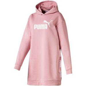 Puma AMPLIFIED DRESS FL - Dámska predĺžená mikina