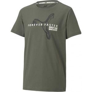 Puma ALPHA HOLIDAY TEE B  152 - Chlapčenské tričko