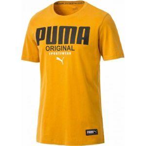 Puma ATHLETICS TEE - Pánske tričko