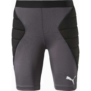 Puma GK TIGHT PADDED SHORTS šedá XL - Brankárske trenky
