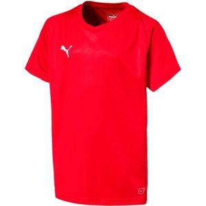 Puma LIGA JERSEY CORE JR - Chlapčenské tričko