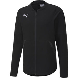 Puma TEAM FINAL 21 CASUALS JACKET tmavo modrá L - Pánska bunda