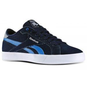 Reebok ROYAL COMPLETE LCN tmavo modrá 11 - Pánska voľnočasová obuv