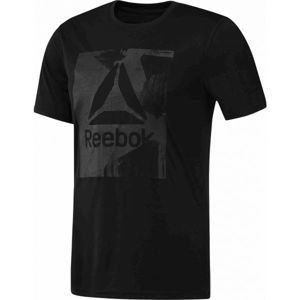Reebok WORKOUT READY GRAPHIC SMU TOP - Pánske tričko