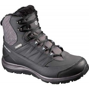 Salomon KAINA MID CS WP 2 čierna 6.5 - Dámska zimná obuv