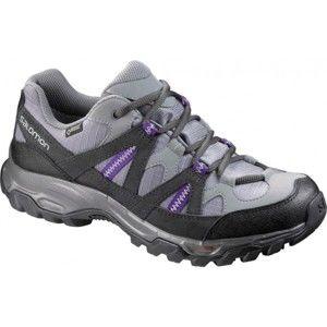 Salomon TSINGY GTX W šedá 5 - Dámska treková obuv