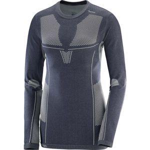 Salomon PRIMO WARM LS CN TEE W - Dámske tričko