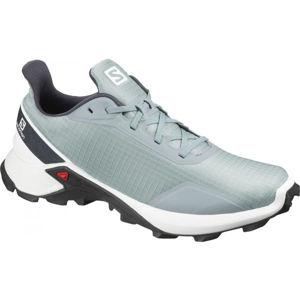 Salomon ALPHACROSS šedá 9.5 - Pánska bežecká obuv
