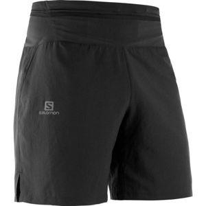 Salomon XA TRAINING SHORT M čierna S - Pánske tréningové  šortky