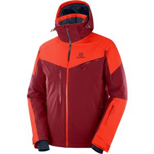 Salomon ICESPEED JKT M oranžová M - Pánska lyžiarska bunda