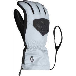 Scott ULTIMATE GTX W biela S - Dámske lyžiarske rukavice
