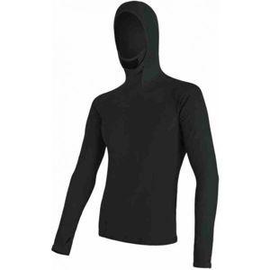 Sensor MERINO DF čierna L - Pánske tričko
